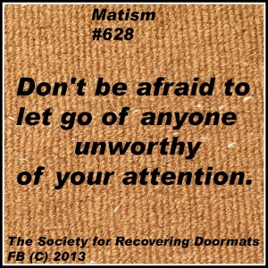let go of unworthy peopledownload.jpg plain doormat