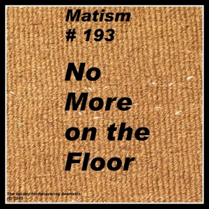 no more on floordownload.jpg plain doormat