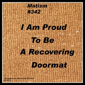 proud to be download.jpg plain doormat