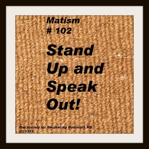 stand up and speak out _matism_series