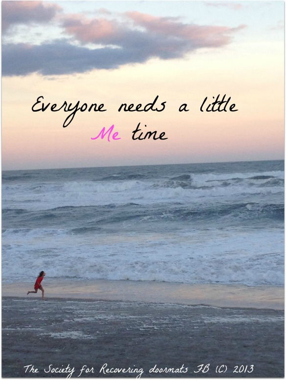 Everyone needs me time.