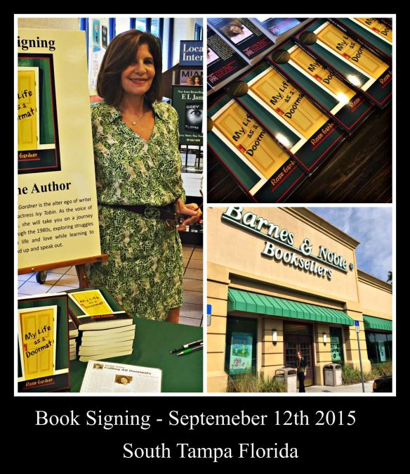 Book signing Sept 16th